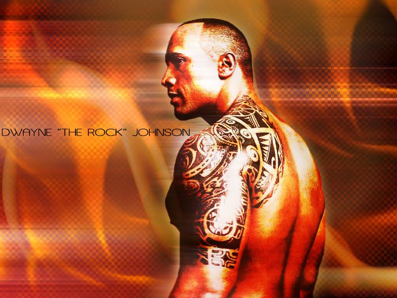 Wallpaper Tattoo The Rock - LiLz.eu - Tattoo DE